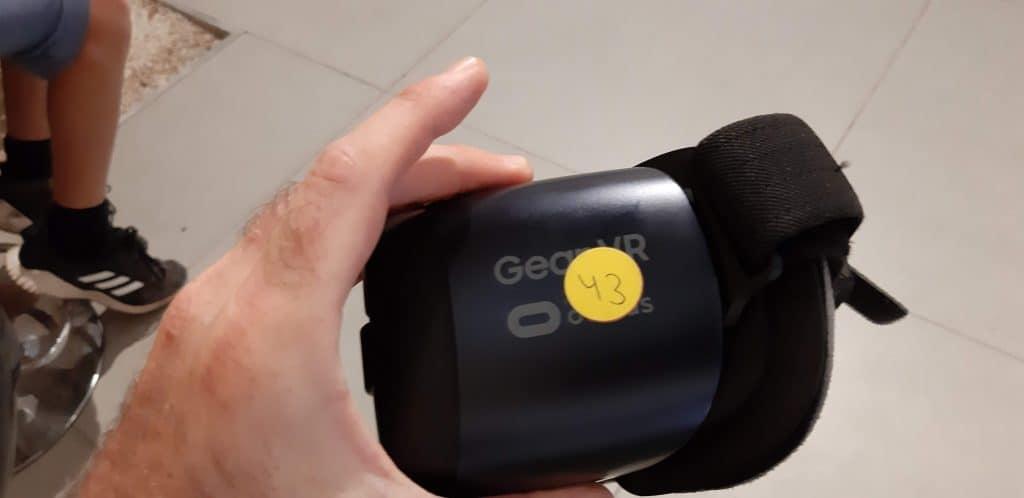 משקפי מציאות מדומה סמסונג גיר VR
