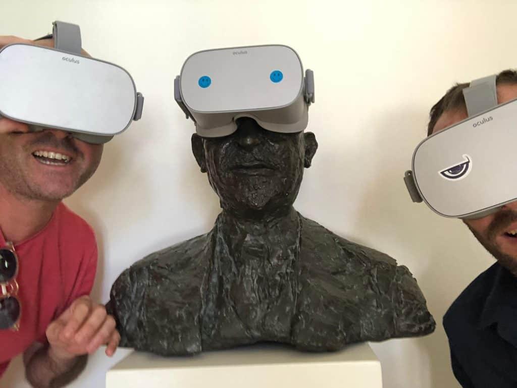 מתוך הפקת חווית מציאות מדומה מרכז מבקרים ויצמן