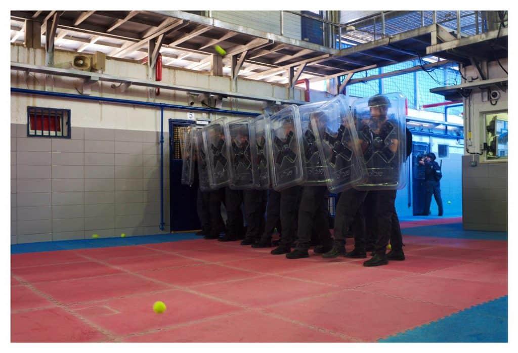 מתוך צילומי סימולצית הדרכה שירות בתי הסוהר במציאות מדומה