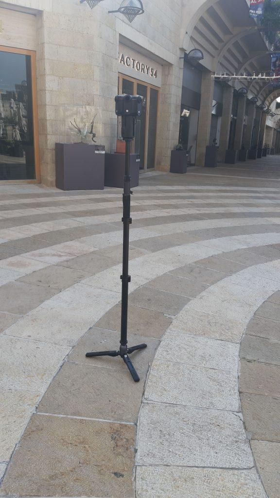 מתוך צילומי פרויקט vr jerusalem מצלמת kandao obsidian r pro 8k 360